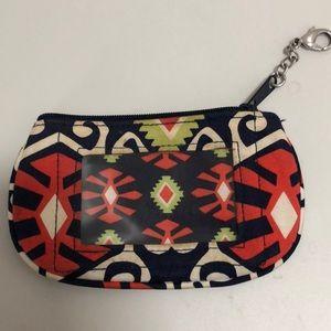 vera bradley card holder pouch
